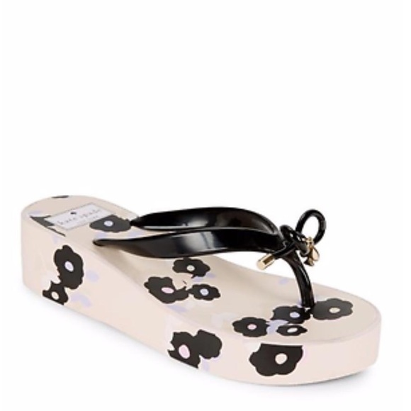 8e3c1cebbfd3 kate spade Shoes - NEW Kate Spade  Rhett  Floral Wedge Flip Flops